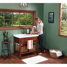 Pine Bathroom Vanity Cabinets by Portland Bathroom Vanity Cabinet Base In Rustic Pine Wayfair Bathok