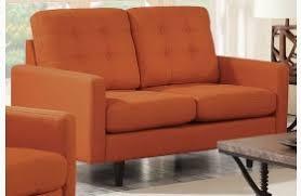 kesson orange living room set from coaster coleman furniture