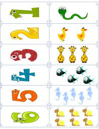 free flashcards with animals for the numbers 1 through 10