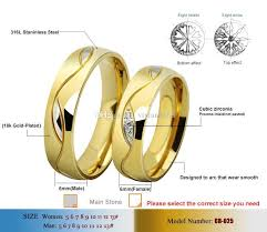size 7 13 2015 new 18k plated classic gold men rings black 2018 never fading 18k gold plated simple classic wedding rings