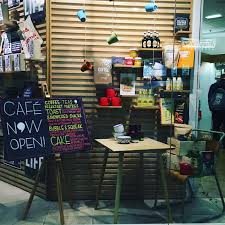 what lexy said soft launch at waterstones west quay cafe