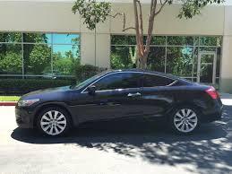 2010 honda accord coupe black ex l v6 w 6 speed manual