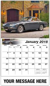 vintage lamborghini 400gt classic cars calendar 65 business advertising promo calendars