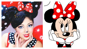 minnie mouse makeup charisma star
