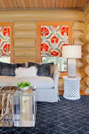 141 best passion for persimmon images on pinterest colorful graphic prints love those shades bright colors touchable textures and ultra cool accessories refresh this cabin living room with undeniable style