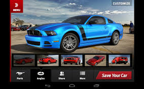 2015 mustang customizer ford mustang customizer app car autos gallery