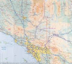 Map De Usa by Map Of South Western Usa 1 000 000 Itm U2013 Mapscompany