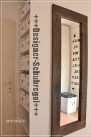 designer schuhregal schuhregal und selfmade spiegel shoe rack and mirror from