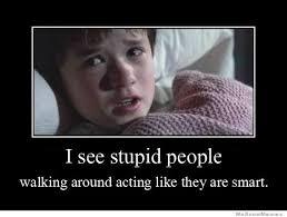 People Are Stupid Meme - i see stupid people weknowmemes