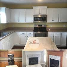 kitchen cabinet refinishing contractors this kitchen cabinet refinishing project in medina ohio