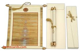 indian wedding invitations scrolls scroll indian wedding cards indian wedding invitations scrolls