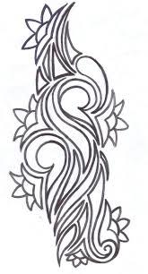 tribal flower tattoo design by average sensation on deviantart