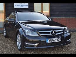 mercedes c class for sale uk used 2012 mercedes c class c250 cdi blueefficiency amg sport