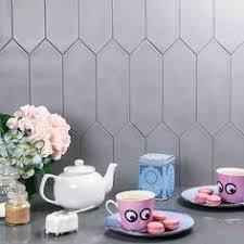 American Handmade Ceramic Tile Pratt And Larson Flat Hexagon Field - Hexagon tile backsplash