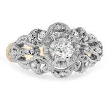 nouveau engagement rings nouveau vintage ring rosalinda brilliant earth