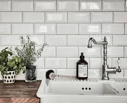 Lovelynightsoflove Via Interiors Grey  White Swedish - Beveled subway tile backsplash