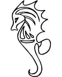 download coloring pages seahorse coloring page cute seahorse