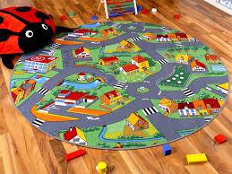 teppich kinderzimmer rund snapstyle kinder spiel teppich grün rund in 4