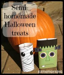 diy last minute semi homemade halloween treats