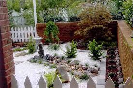 brick wall japanese garden design with japanese garden designs