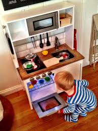 Ikea Play Kitchen Hack by Sandpaper And Silly Putty What U0027s Cooking Carson