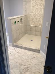 master bath remodel in bolton ma with marble tile and plastic