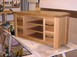 Woodworking Plans Pdf by Tv Stand Hastings Solid Oak Corner Tv Stand Tv Stand Wooden