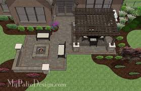 Good Looking Easy Patio Design Ideas Patio Design 56 by Fun Fire Pit Patio Design With Pergola 2 For The Home