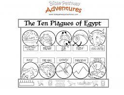 10 plagues coloring page haggadot com