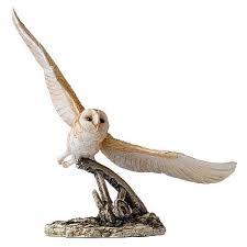 barn owl figurine border arts barn owl figurines
