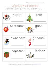 kindergarten christmas printable teaching december christmas