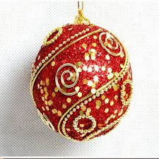 and gold ornaments gold tree balls surrounded by