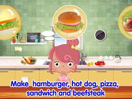 jeux de cuisine pour fille gratuit 2012 cuisine jeux pour enfants dans l app store