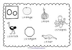 preschool letter o activities and worksheets little dots