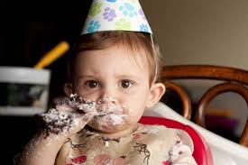 adorably messy babies eating birthday cake youtube