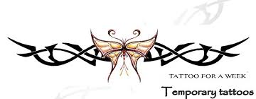 tribal butterfly tattoo meanings temporary tattoo blog