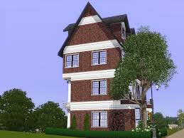 three story house mod the sims comfy townhouse a three story house with 2