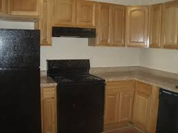 Kitchen Oak Cabinets Kitchen With Oak Cabinets And Black Appliances Kitchens Ar U2026 Flickr