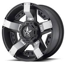 white jeep black rims rockstar xd811 rs2