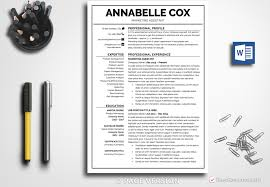 business resume templates resume template annabelle cox bestresumes