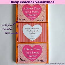 east coast mommy last minute teacher valentines with free