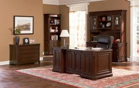 amazing home office furniture for two people with cool workdesk