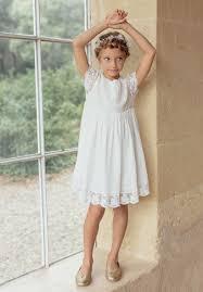 robe mariage fille robe bohême chic enfant pour mariage et cérémonie