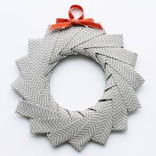 diy origami wreath tutorial paperiaarre