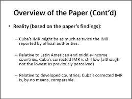 demographythe cuban economy u2013 la economía cubana