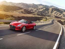 photo jaguar 2016 f type convertible awd cabriolet red nature