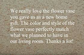 wording for thank you cards for housewarming gift and hubpages