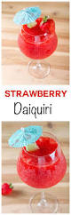 easy strawberry daiquiri frosty sweet and refreshing cocktail