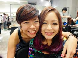 sissy hairstyles salon vim lovin my pink purple highlights yina goes