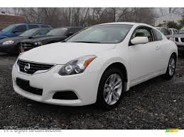 Nissan Altima S - 2011 nissan altima 2 5 s coupe in winter frost white 174597